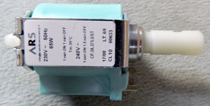 Pumpe Invensys (ARS) neu