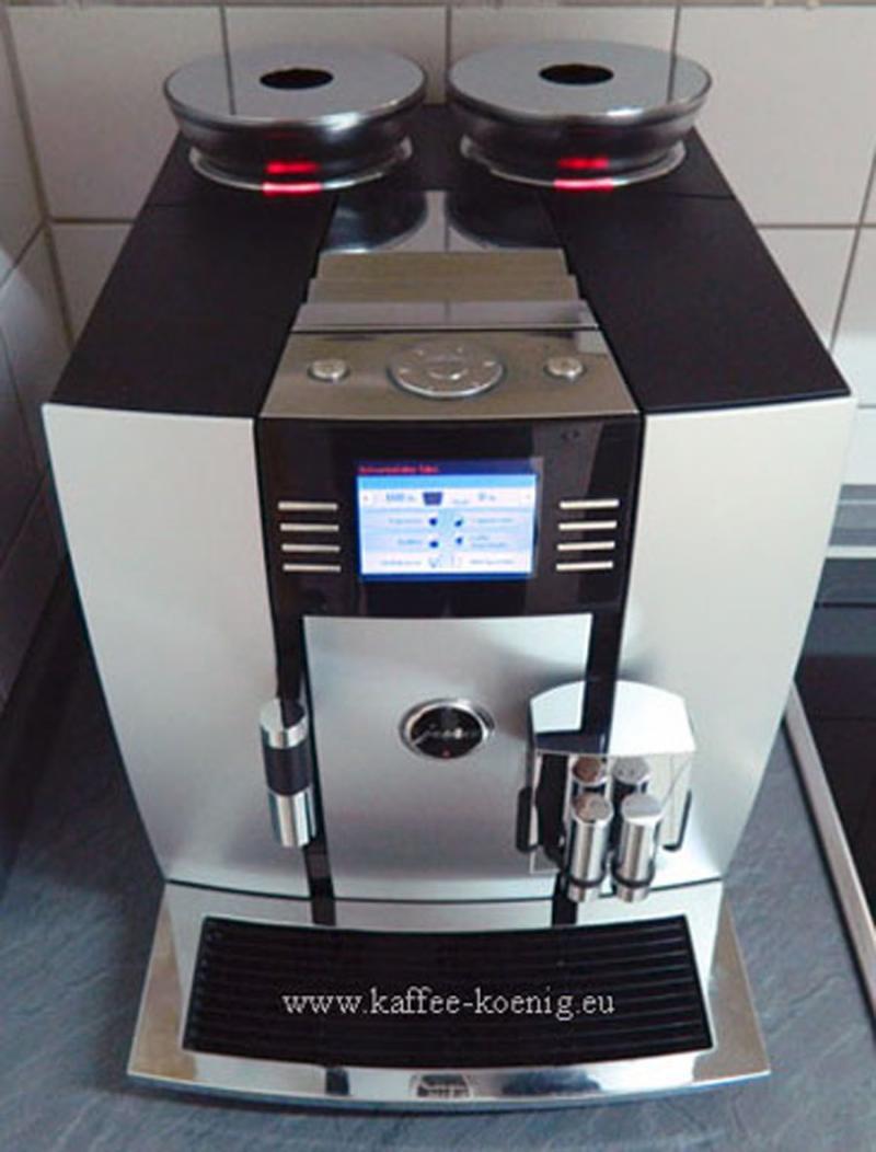 Jura Giga 5 Alu one Touch TFT-Farbdisplay Generalüberholt.