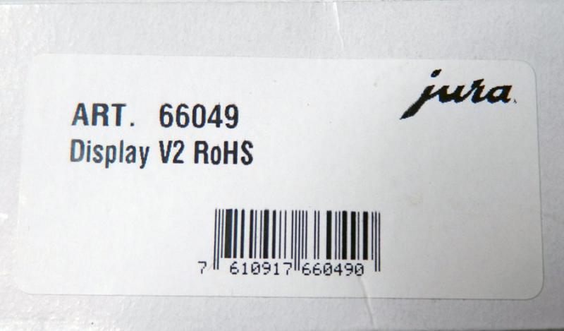 Jura Impressa F50 Display neu