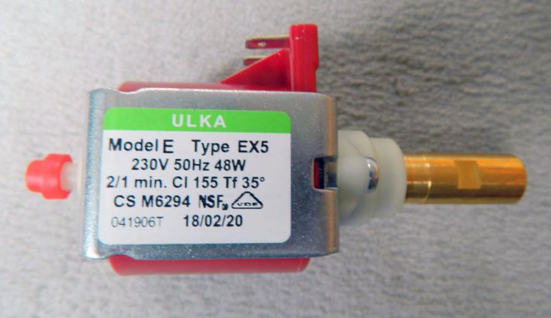 Ulka Wasserpumpe EX5 48 W 230 V neu